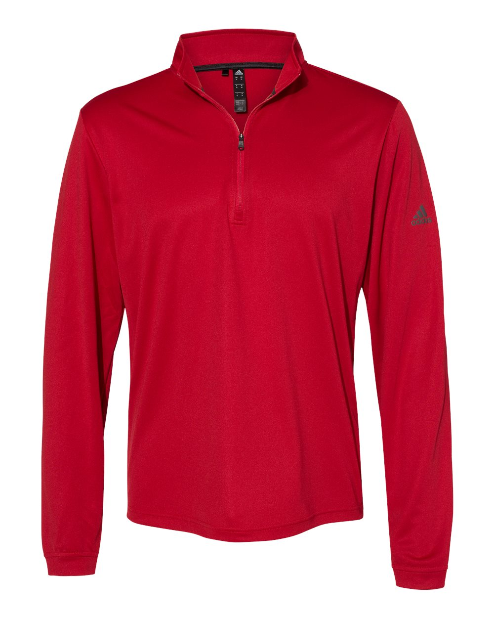 Adidas-Mens-Lightweight-Quarter-Zip-Pullover-Shirt-polyester-A401-up-to-4XL miniature 21