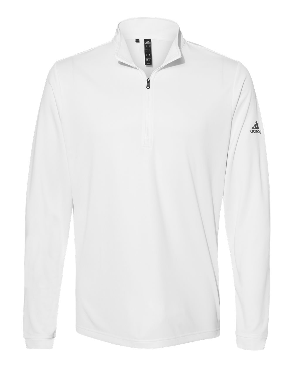 Adidas-Mens-Lightweight-Quarter-Zip-Pullover-Shirt-polyester-A401-up-to-4XL miniature 24