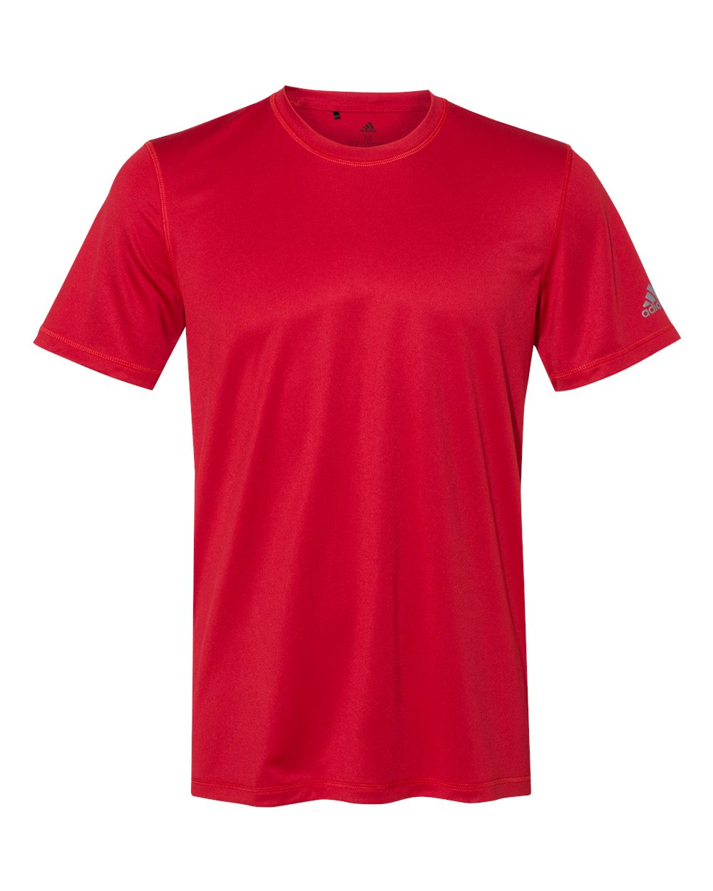 Adidas-Mens-Blank-Short-Sleeve-Polyester-Sport-T-Shirt-A376-up-to-4XL miniature 30