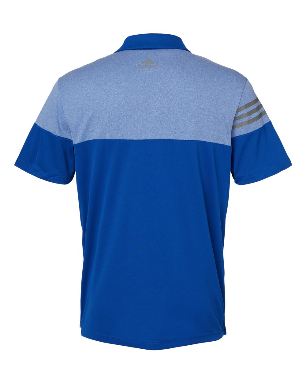 Adidas-Heather-3-Stripes-Block-Sport-Shirt-Polo-Button-A213-up-to-3XL thumbnail 19