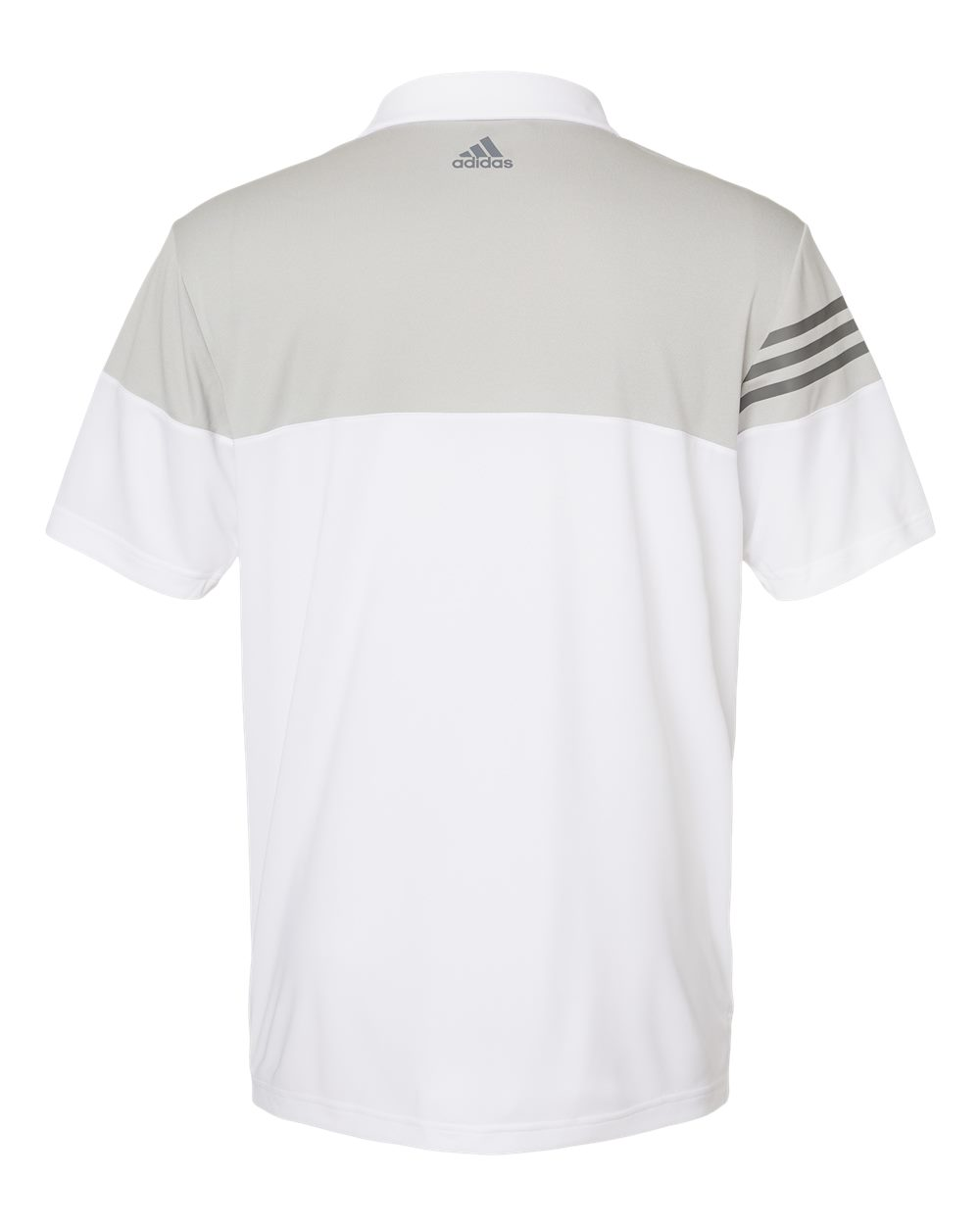 Adidas-Heather-3-Stripes-Block-Sport-Shirt-Polo-Button-A213-up-to-3XL thumbnail 28