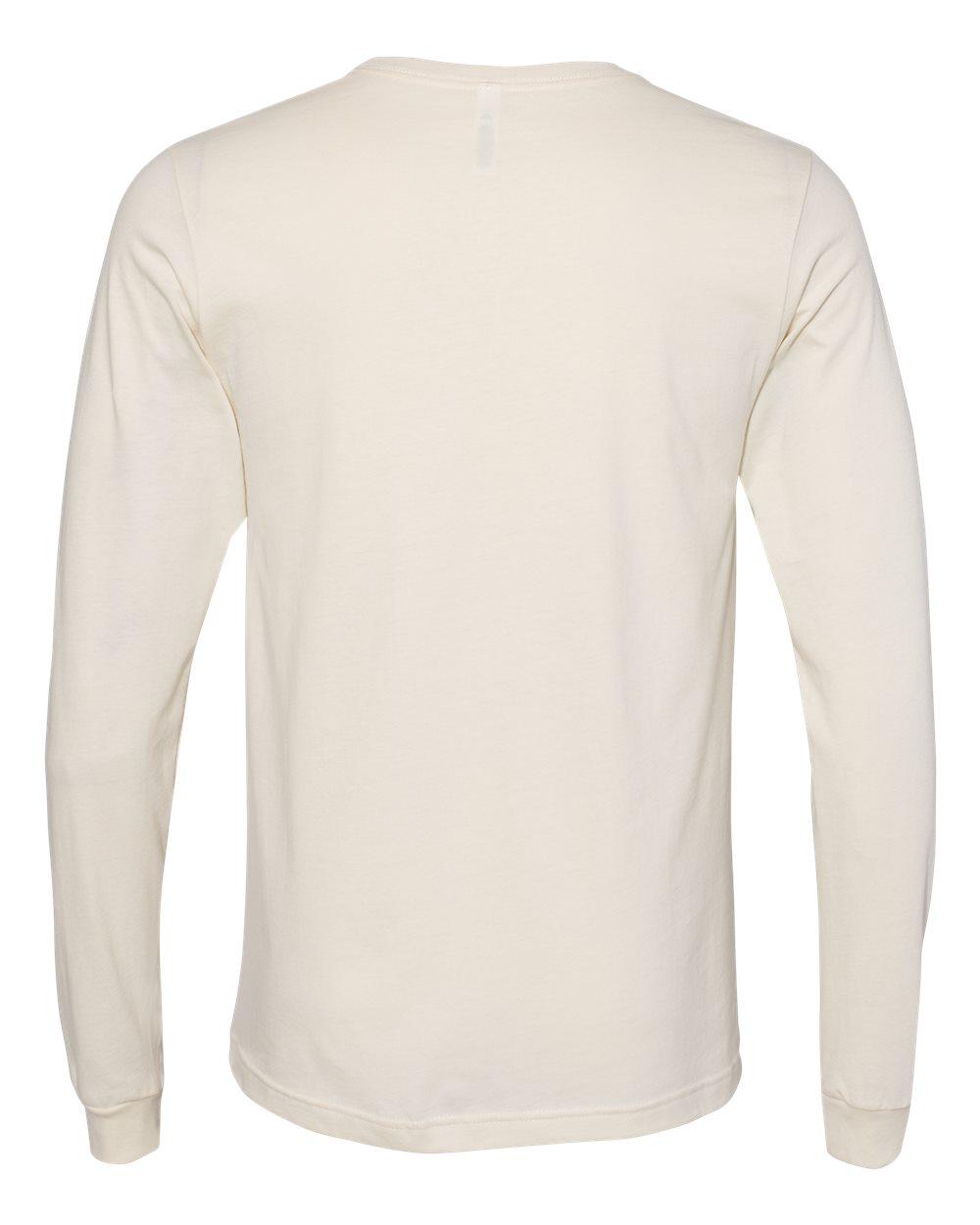 Bella-Canvas-Mens-Blank-Top-Long-Sleeve-Jersey-Tee-T-Shirt-3501-up-to-3XL thumbnail 86