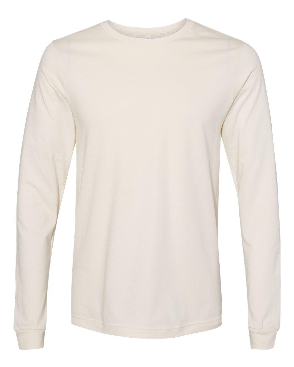 Bella-Canvas-Mens-Blank-Top-Long-Sleeve-Jersey-Tee-T-Shirt-3501-up-to-3XL thumbnail 85