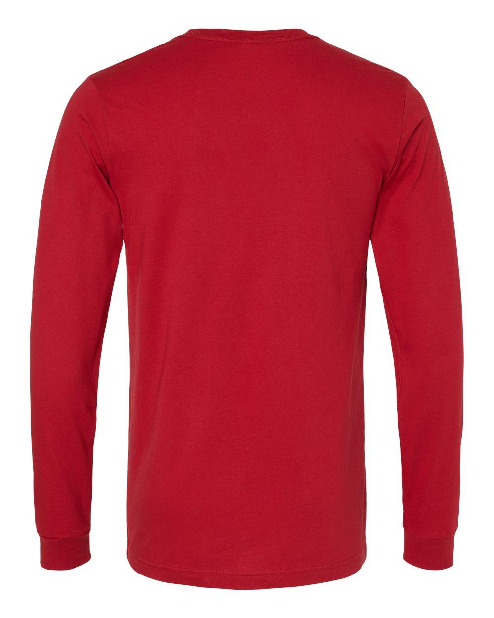 Bella-Canvas-Mens-Blank-Top-Long-Sleeve-Jersey-Tee-T-Shirt-3501-up-to-3XL thumbnail 25