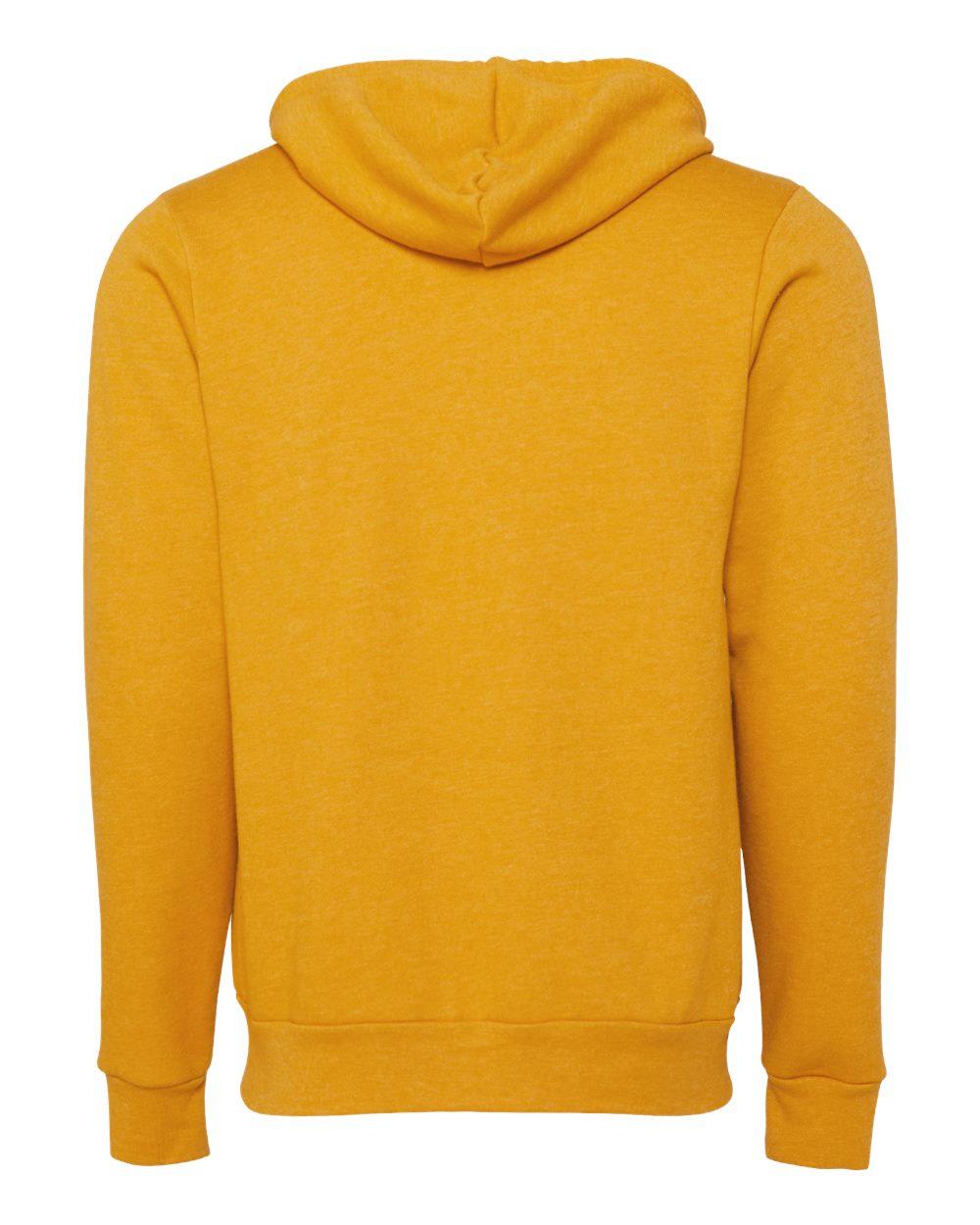 Bella-Canvas-Unisex-Full-Zip-Up-Hooded-Sweatshirt-Blank-Hoodie-3739-up-to-3XL thumbnail 44