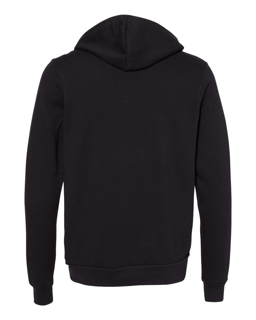 Bella-Canvas-Unisex-Full-Zip-Up-Hooded-Sweatshirt-Blank-Hoodie-3739-up-to-3XL thumbnail 25