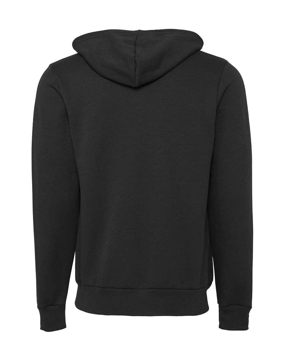 Bella-Canvas-Unisex-Full-Zip-Up-Hooded-Sweatshirt-Blank-Hoodie-3739-up-to-3XL thumbnail 27