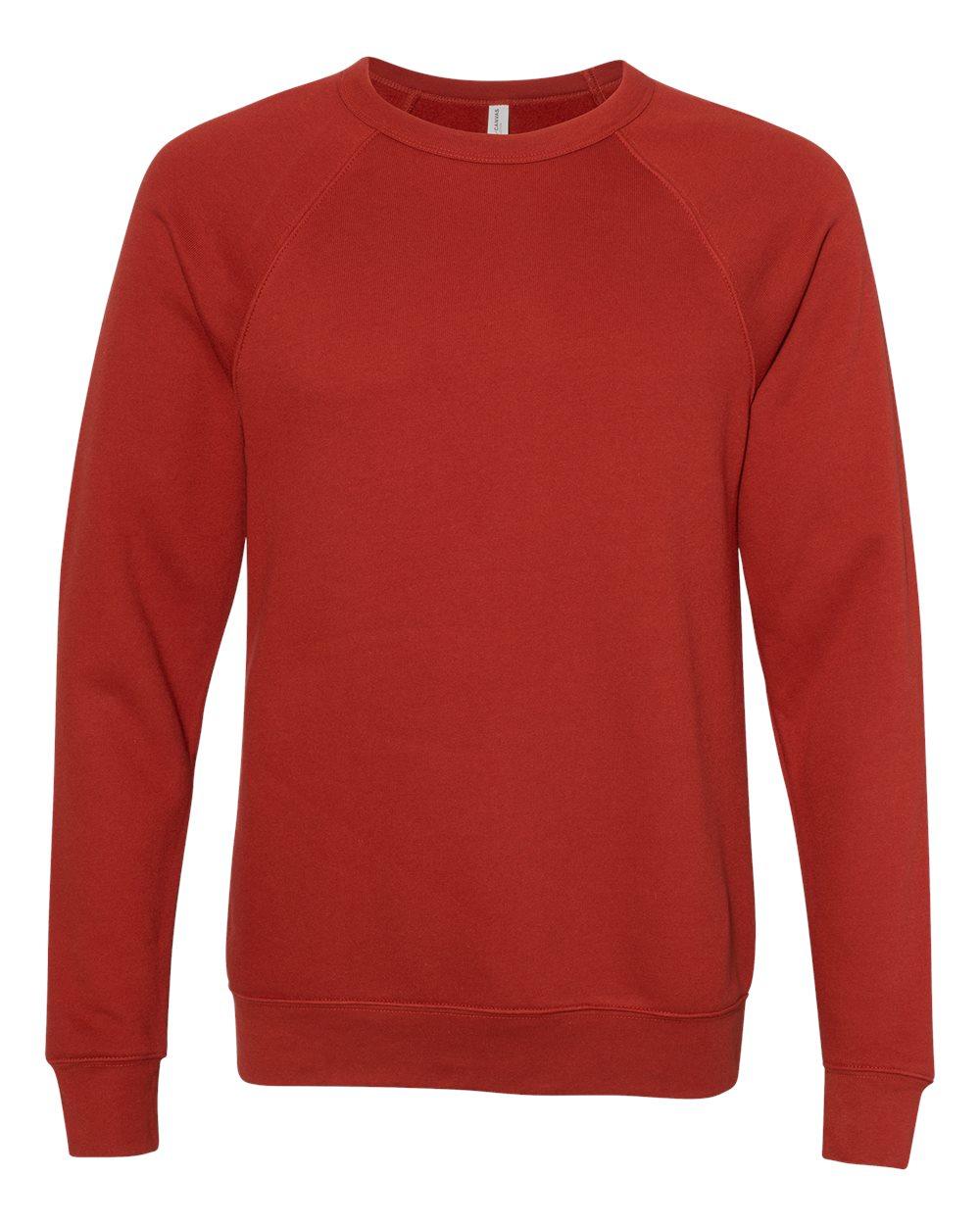 Bella-Canvas-Unisex-Sponge-Fleece-Crewneck-Sweatshirt-Top-Blank-3901-up-to-2XL thumbnail 15
