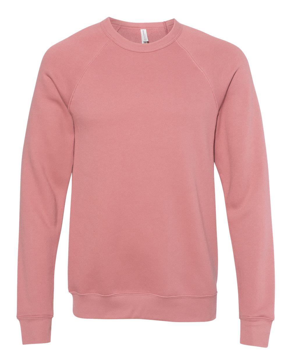 Bella-Canvas-Unisex-Sponge-Fleece-Crewneck-Sweatshirt-Top-Blank-3901-up-to-2XL thumbnail 49