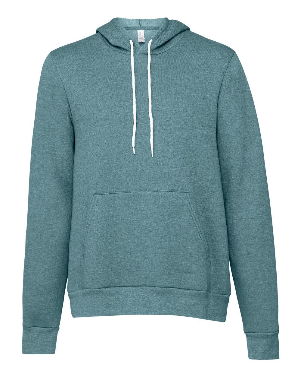 Bella-Canvas-Unisex-Sponge-Hooded-Pullover-Sweatshirt-Blank-3719-up-to-2XL thumbnail 41