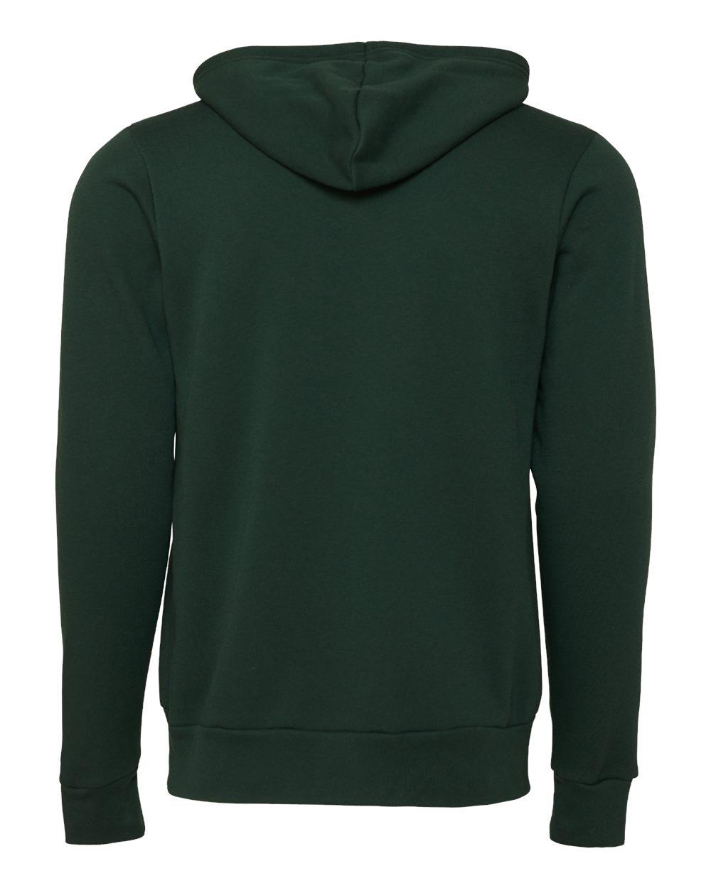 Bella-Canvas-Unisex-Full-Zip-Up-Hooded-Sweatshirt-Blank-Hoodie-3739-up-to-3XL thumbnail 31