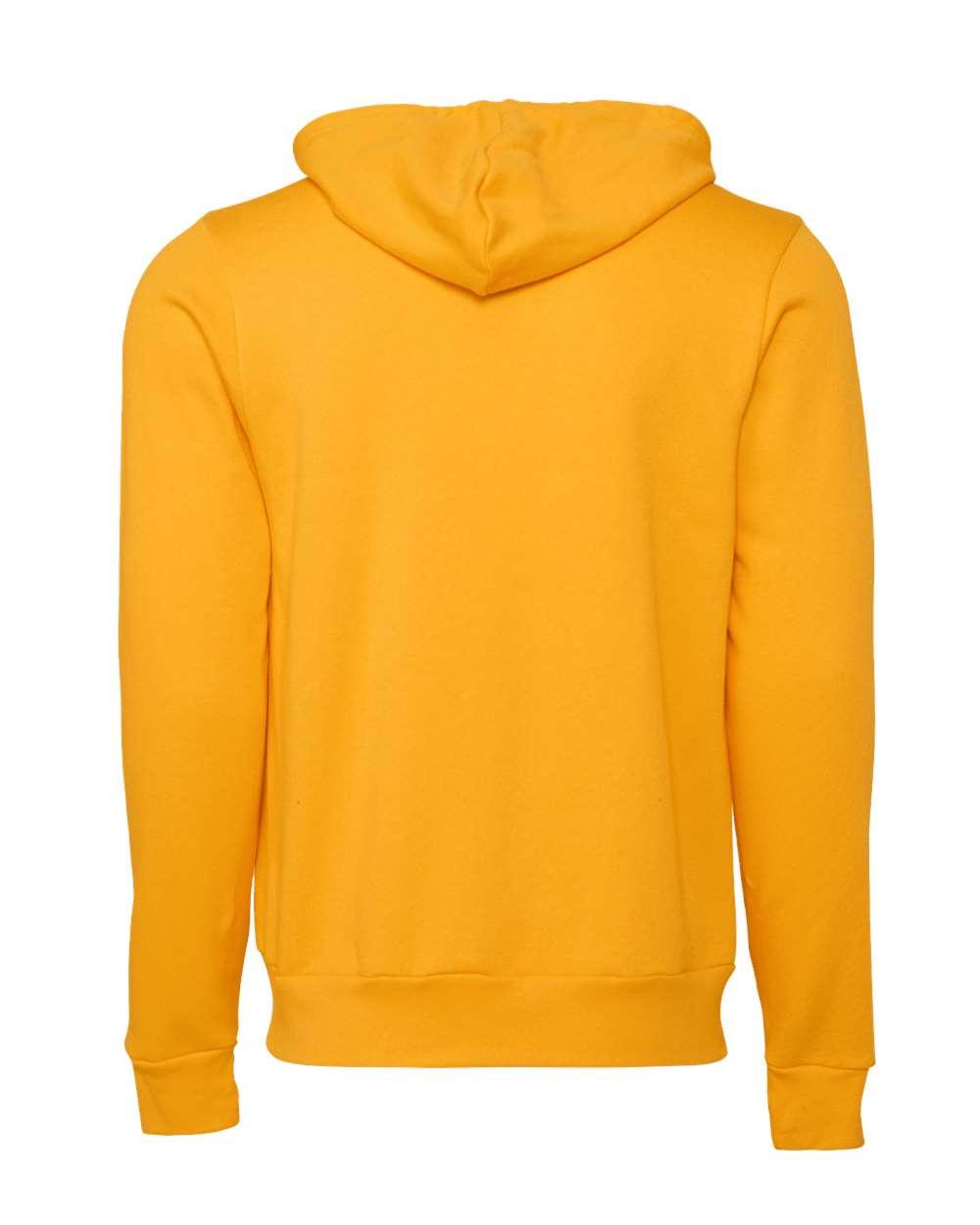 Bella-Canvas-Unisex-Full-Zip-Up-Hooded-Sweatshirt-Blank-Hoodie-3739-up-to-3XL thumbnail 33