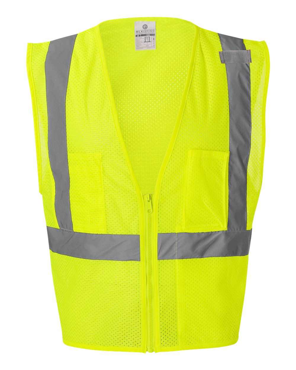 Ml Kishigo Safety Ppe Ultra Cool Mesh Vest With Pockets