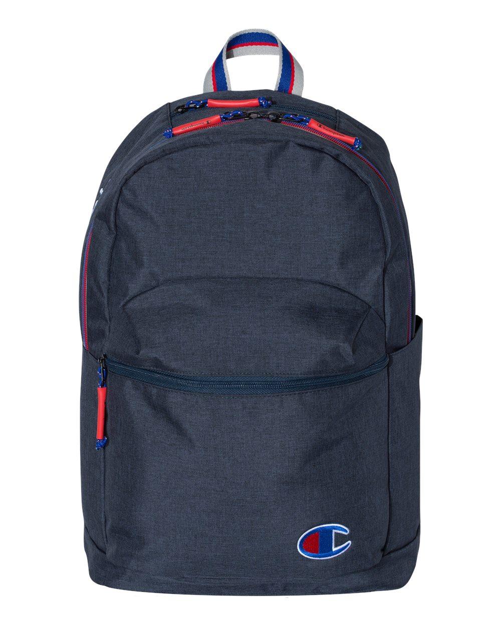 11-1//2 x 18  x 6-1//4 Champion 21L Script Backpack School Bag Books CS1000