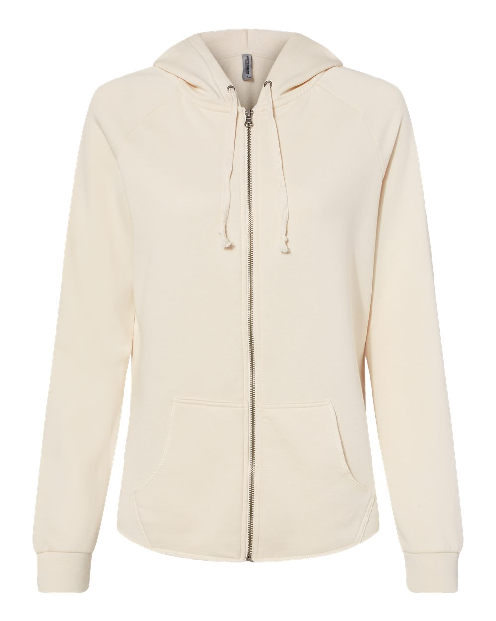 Independent-Trading-Co-Women-039-s-Wave-Wash-Full-Zip-Hooded-Sweatshirt-PRM2500Z thumbnail 2